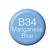 Copic Ink B34 Manganese Blue