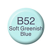 Copic Ink B52 Soft Greenish Blue