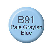 Copic Ink B91 Pale Grayish Blue
