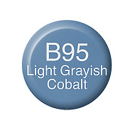 Copic Ink B95 Light Grayish Cobalt