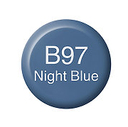 Copic Ink B97 Night Blue