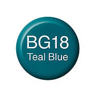 Copic Ink BG18 Teal Blue