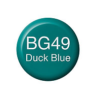 Copic Ink BG49 Duck Blue