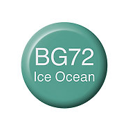 Copic  Ink BG72 Ice Ocean