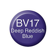 Copic Ink BV17 Deep Reddish Blue
