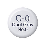 Copic Ink C0 Cool Gray No. 0