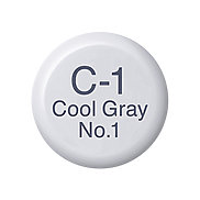 Copic Ink C1 Cool Gray No. 1