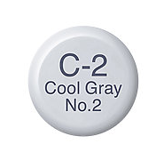 Copic Ink C2 Cool Gray No. 2