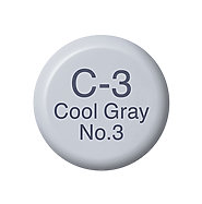 Copic Ink C3 Cool Gray No. 3
