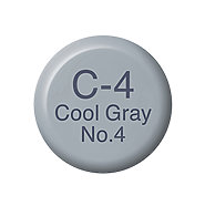Copic Ink C4 Cool Gray No. 4