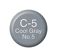 Copic Ink C5 Cool Gray No. 5
