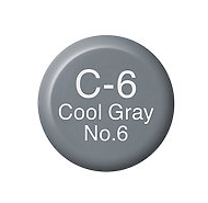 Copic Ink C6 Cool Gray No. 6