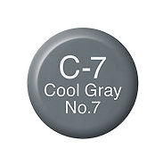 Copic Ink C7 Cool Gray No. 7