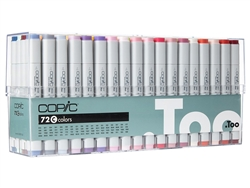 Copic Classic Markers 72 Color Set C