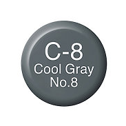 Copic Ink C8 Cool Gray No. 8