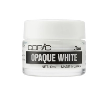 Copic - Opaque White Pigment for use with paint brush or empty copic marker