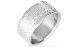 Cracked Design Stainless Steel Band-11