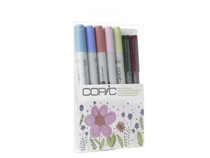 Copic Ciao 7pc Doodle Kit Nature colors marker set