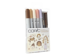Copic Ciao 7pc Doodle Kit People colors marker set