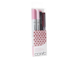 Copic Ciao 4pc Doodle Pack Pink marker set