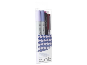 Copic Ciao 4pc Doodle Pack Purple marker set