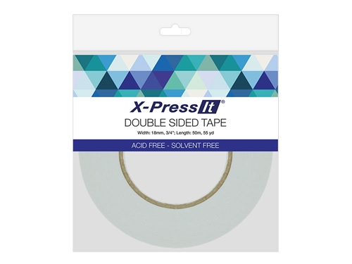 X-Press It Double Sided Tissue Tape (3/4 inch x 55yd)