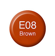 Copic Ink E08 Brown