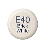 Copic Ink E40 Brick White