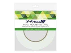 X-Press It Double Sided Foam Tape 18mm x 4mm (3/4 inch x 4.4 yds.)
