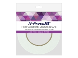 X-Press It High Tack Foam Tape (1/2 inch x 4.4yds)