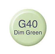 Copic Ink G40 Dim Green