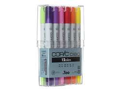 Copic Ciao Markers: 12 Color Set [Basic Set]
