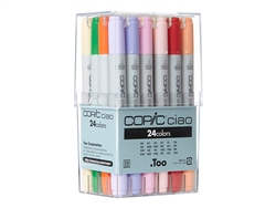Copic Ciao Markers: 24 Color Set [Basic Set]