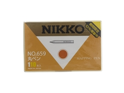 Nikko Maru (Mapping) Pen Nib - 110 Piece Box