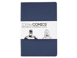 I DRAW COMICS Sketchbook Reference Guide 8.5x6x0.5 inches