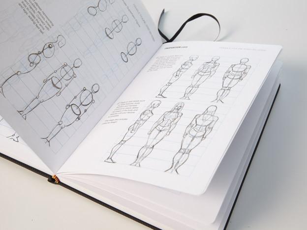 Copic Marker IDRAW Shoes Sketchbook & Reference Guide-Black 83aJTVsM2s