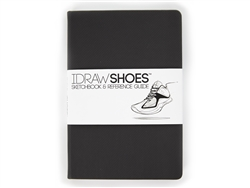 I DRAW SHOES Sketchbook Reference Guide 8.5x6x0.5 inches