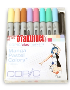 Copic Ciao Manga Kit - Pastel Colors Marker Set [Otakufuel-Hime set]