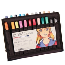 Copic Ciao Wallet Set A - 22 Colors + 2 Multiliners