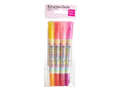 Flower 4 piece 2win Scented Water-based Marker Set