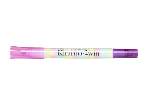 Lavender 2win Marker Kirarina Scented Water-Based Marker