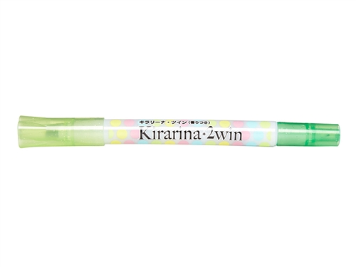 Light Green 2win Marker Kirarina Scented Water-Based Marker