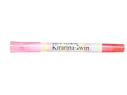 Light Pink 2win Marker Kirarina Scented Water-Based Marker
