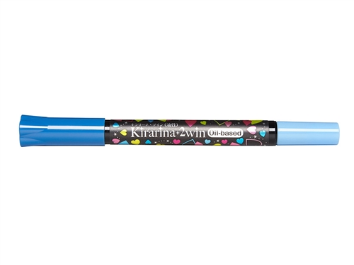 Kirarina 2Win Marine Blue Oil Based Marker