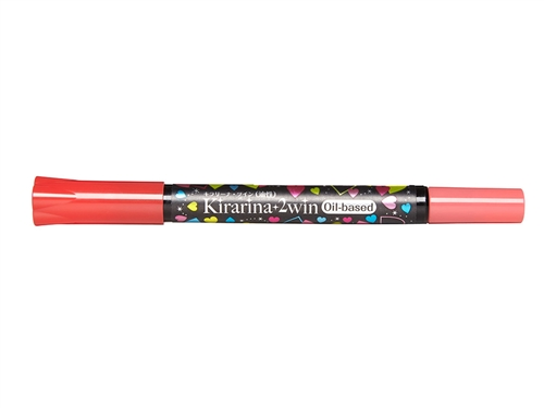 Kirarina 2Win Ruby Red Oil Based Marker