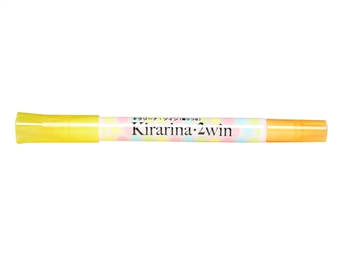 Lemon Yellow 2win Marker Kirarina Scented Water-Based Marker