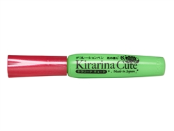 Kirarina Cute Bright Green Scented 3D Puff Paint Pen
