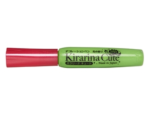 Kirarina Cute Kira-kira Green Scented 3D Puff Paint Pen