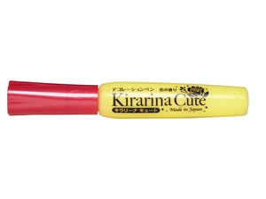 Kirarina Cute Kira-kira Yellow Scented 3D Puff Paint Pen