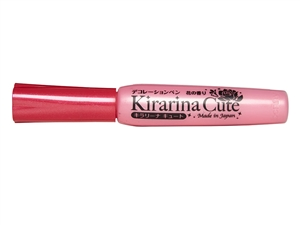 Kirarina Cute Pearl Pink Scented 3D Puff Paint Pen